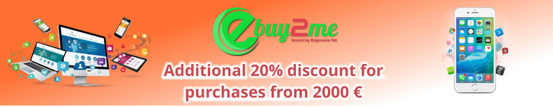 Offer with 20% discount on in-shop purchases of at least € 2000